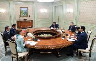 Шавкат Мирзиёев Жаҳон банки делегациясини қабул қилди