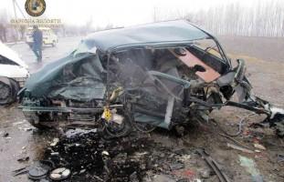 В результате  ДТП имевшего место в Дангаринском районе 3 человека погибли, 6 госпитализиро…